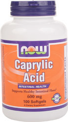 Caprylic Acid  100 Softgel